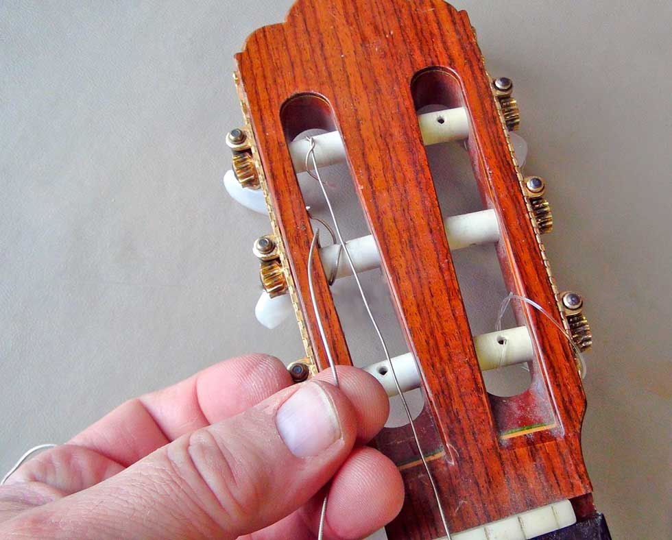 Tie The Nylon Strings Onto 49