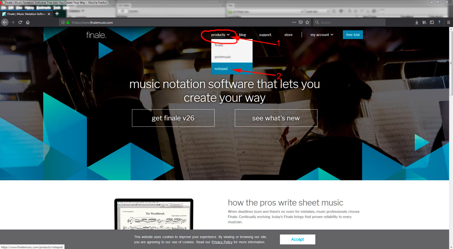JLA Music   Download Free Finale NotePad Software