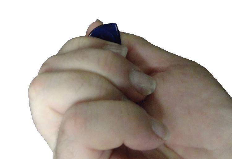 View from a Different Angle: How to Hold a Guitar Pick